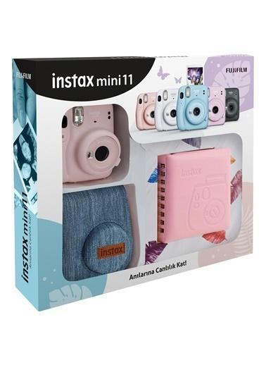 Fujifilm Instax mini 11 Jean Çantalı Pembe Kit Pembe